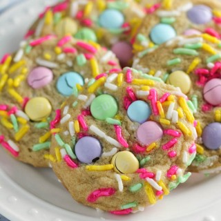 Easter M&M Party Cookies