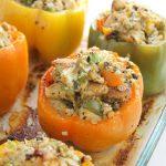Meatless Stuffed Peppers-2